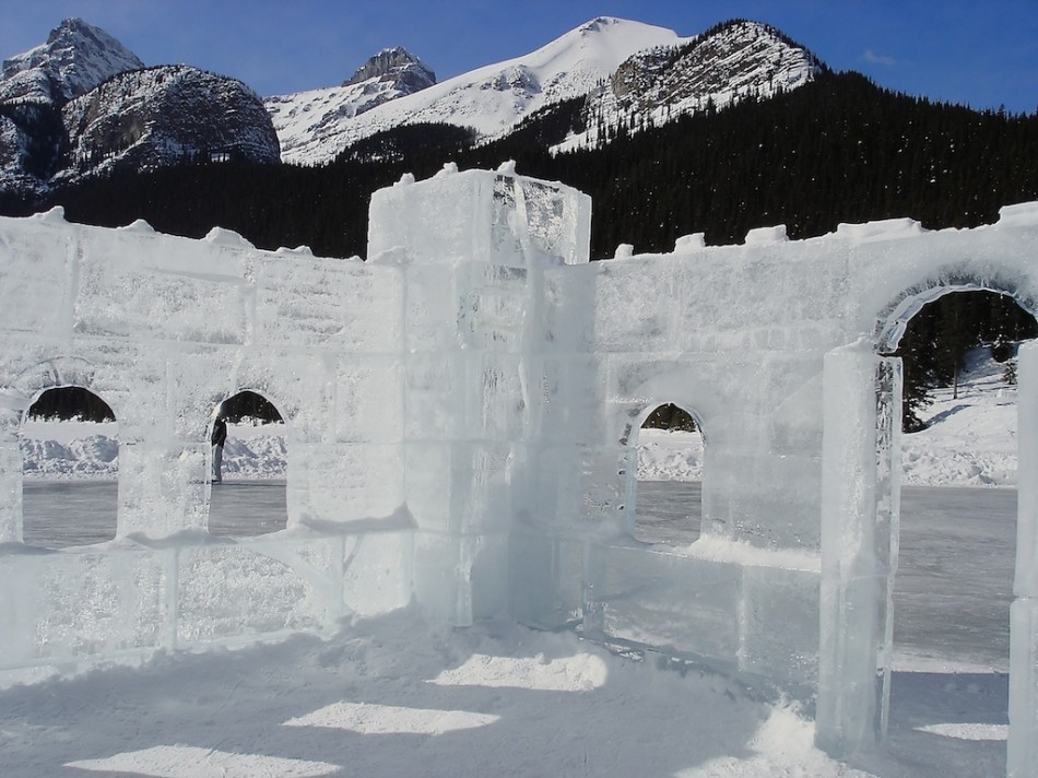 Lake Louise Ice Castle Stacy Conaway